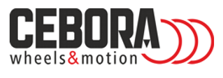 Cebora logo, ruote industriali